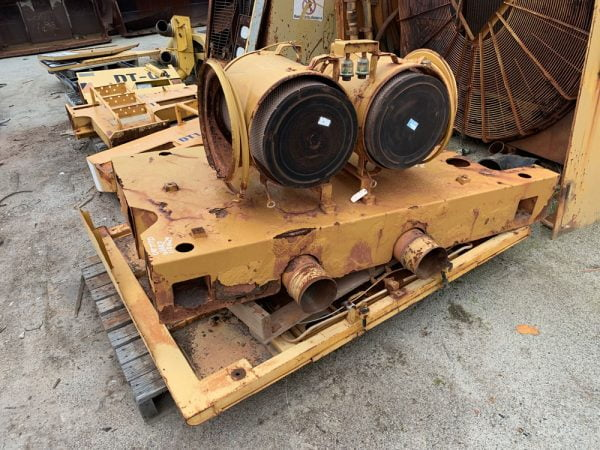 Used parts for sale by BTP Group - Caterpillar 777D hood