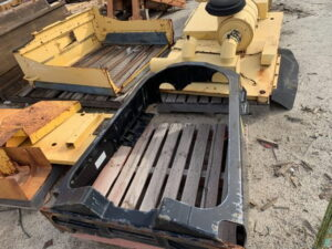 Used parts for sale by BTP Group - Caterpillar 16M fuel tank support group