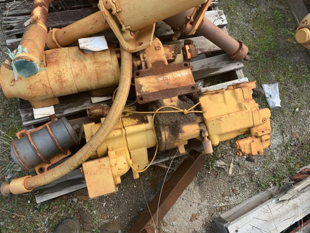 Used parts for sale by BTP Group - Caterpillar 789 drive group-pump