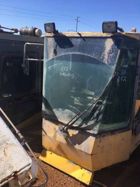Used parts for sale by BTP Group - Komatsu WA600-1 cab