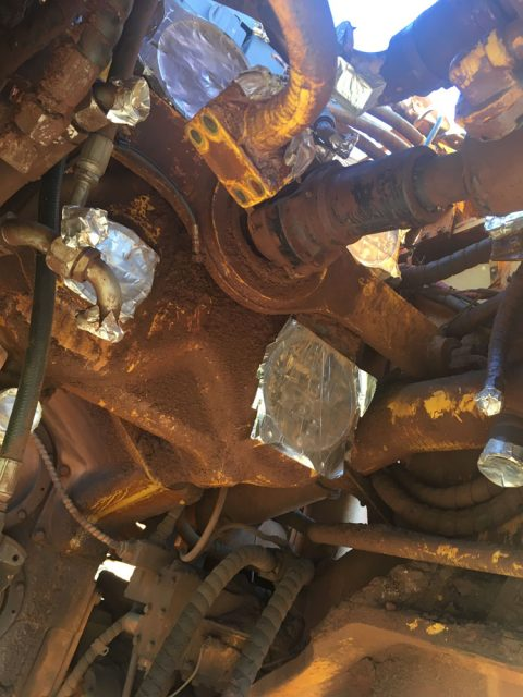 Used parts for sale by BTP Group - Komatsu WA900