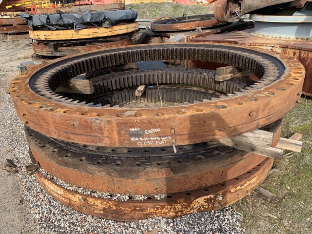 Used parts for sale by BTP Group - Hitachi EX2500 swing circle