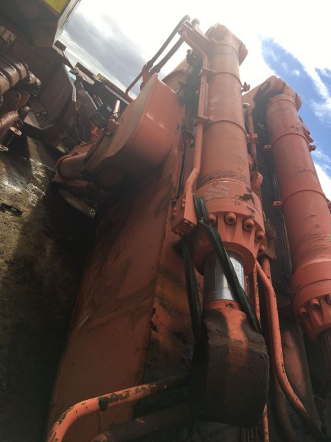 Used parts for sale by BTP Group - Hitachi EX2500