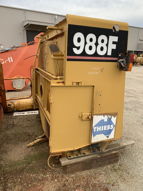 Used parts for sale by BTP Group - Caterpillar 988F radiator group