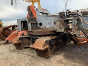 Used parts for sale by BTP Group - Komatsu EX1900-5 slew bearing