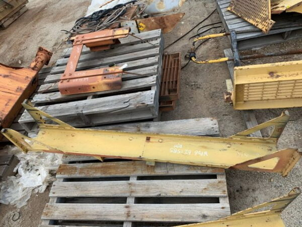 Used parts for sale by BTP Group - Caterpillar 777D radiator channel right hand