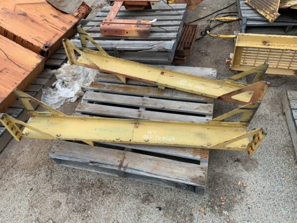 Used parts for sale by BTP Group - Caterpillar 777D radiator channel left hand