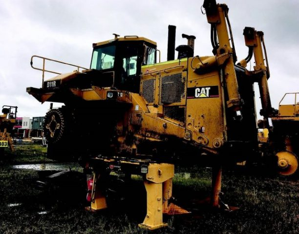 Dismantling now by BTP Group - Caterpillar Dozer without Tracks D11R