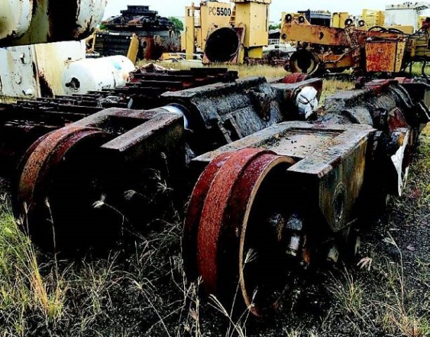 Dismantling now by BTP Group - Caterpillar Dozer Track Frames D11R
