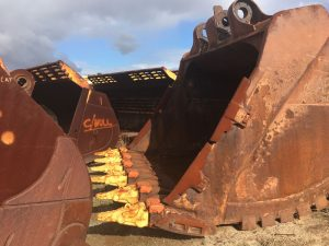 Used parts for sale by BTP Group - Komatsu EX1900 bucket