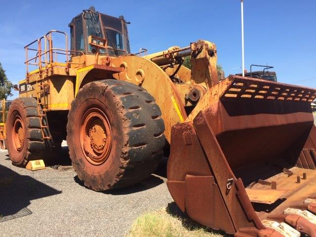 For Sale by BTP Group - Caterpillar 990 Wheel Loader