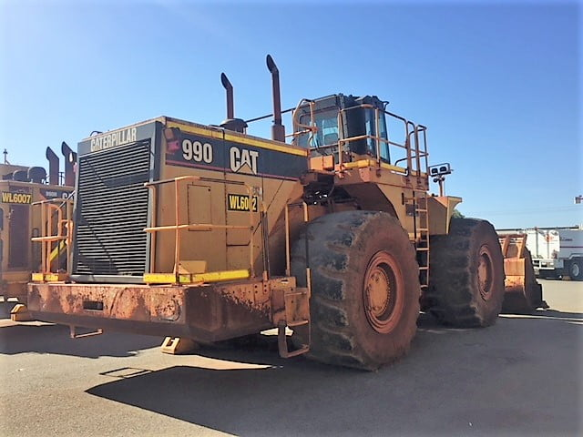 Caterpillar Loader 990