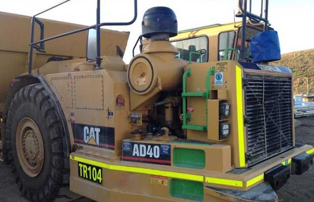 Elphinstone Underground Articulated Truck AD40