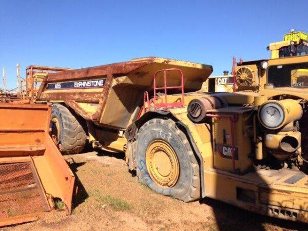 Caterpillar AD55 Underground Dump Truck •
