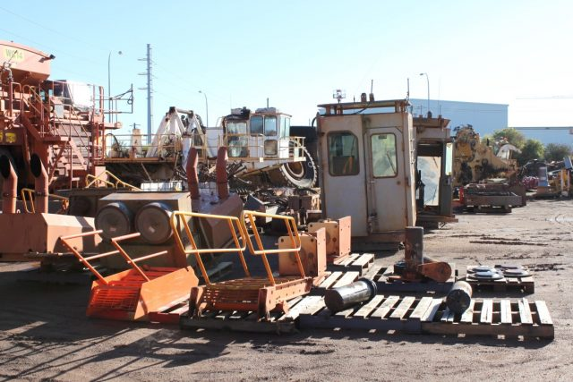 Dismantling now by BTP Group - Hitachi Excavator EX3600