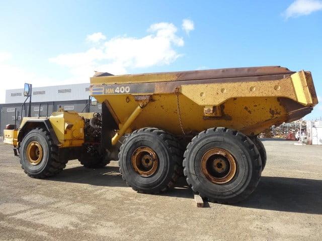 Dismantling now by BTP Group - Komatsu HM400