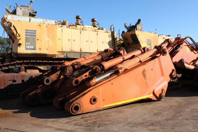 Dismantling now by BTP Group - Hitachi EX2500