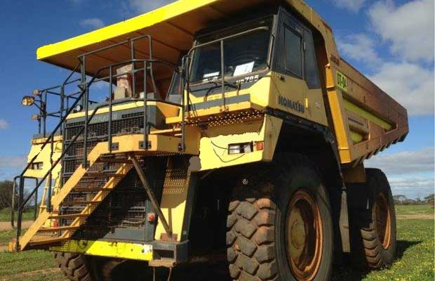 Dismantling now by BTP Group - Komatsu HD785 Truck
