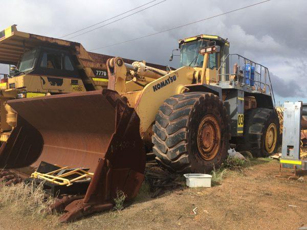 Dismantling now by BTP Group - Dozer Komatsu WA900