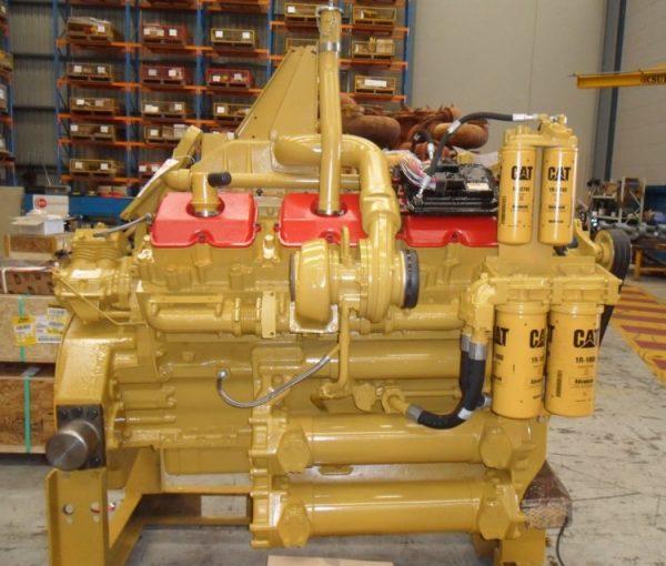 Engine Arrangement (Aftercooled) (123-0198) • 773D Engine Arrangement 1230198