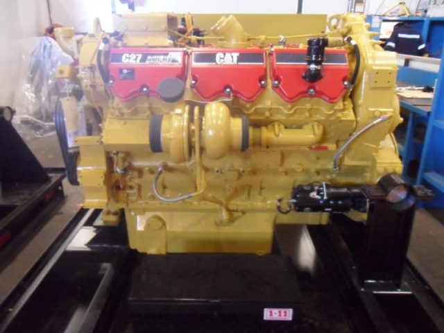 Engine Arrangement Caterpillar 775F