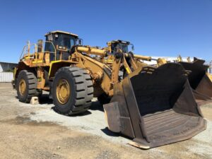 For rent by BTP Group - Caterpillar Loader 988H