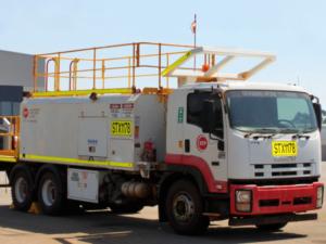 Rental Truck from BTP Group - Isuzu P9000 Service Truck - ST8015