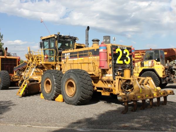 Caterpillar 24H Grader • BTP Group HZM CAT 24H Grader GR4001 d edited .7KK00088