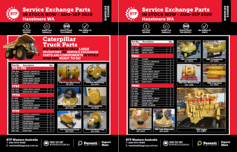 BTP Hazelmere Service Exchange Brochure - Aug-Sep 2020