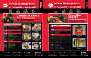 BTP Mt Thorley NSW Service Exchange - All Machines - Sep-Oct