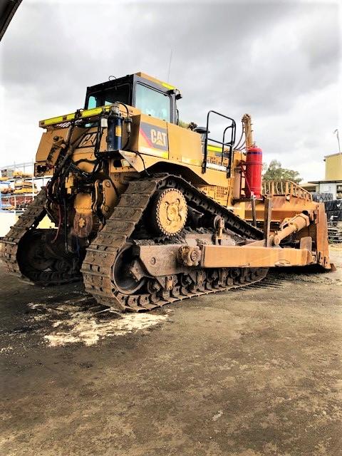 BTP Mt Thorley D10T Dismantling c